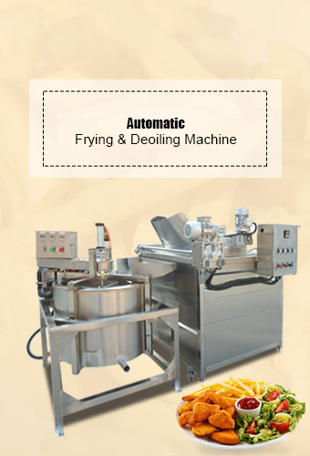 Automatic Frying and Deoiling M