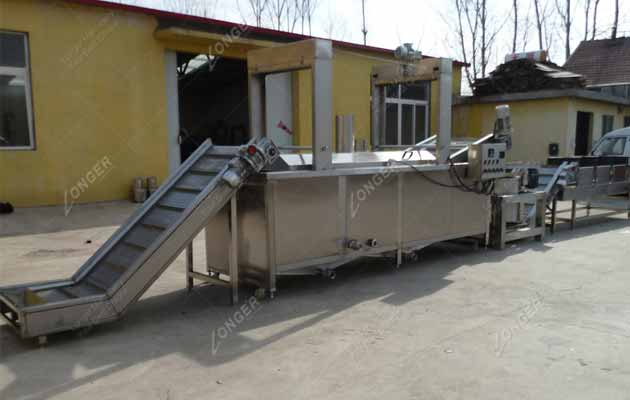 Commercial Fried Peanut Production Line|Peanut Frying Machines