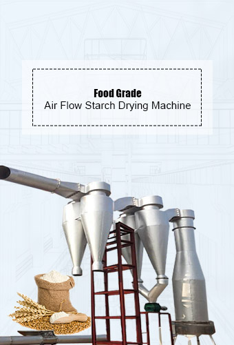 Air Flow Starch Drying Machine