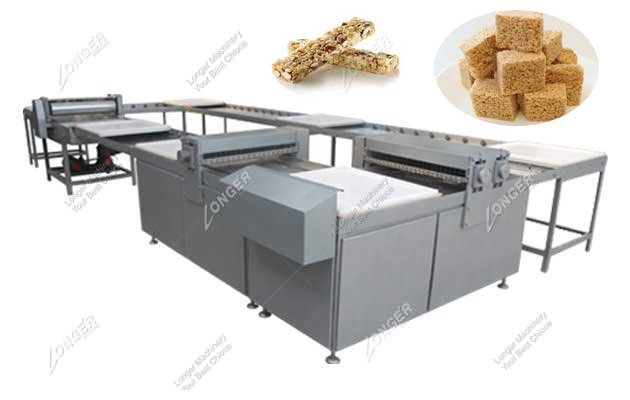 Cereal Bar Making Machine|Rice Krispies Production Line