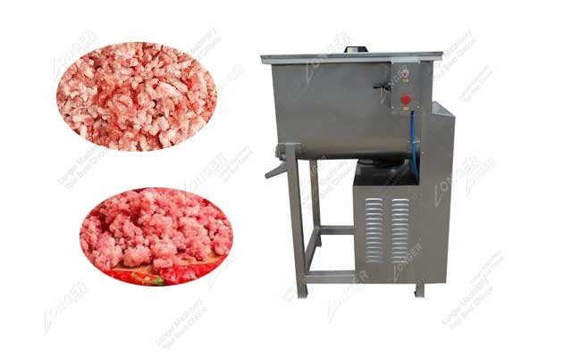 Motorized Commercial Meat Blending Mixer Machine