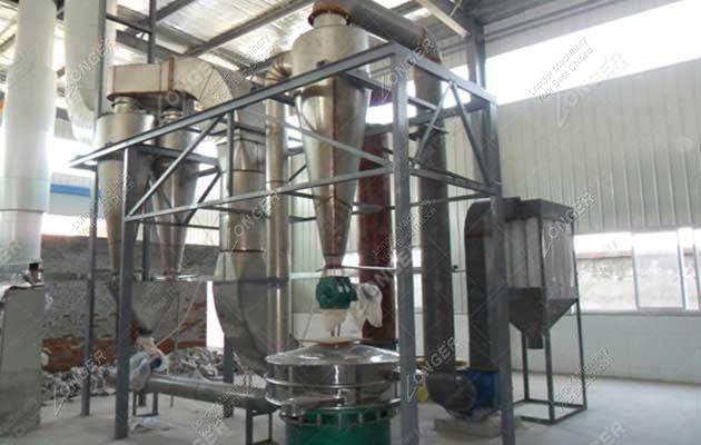 Auto Potato Starch Processing Line 1000kg/h