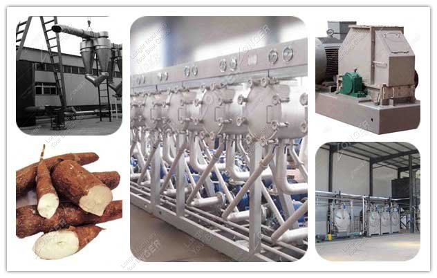 Hot Sale Cassava Starch Processing Line 500kg/h China