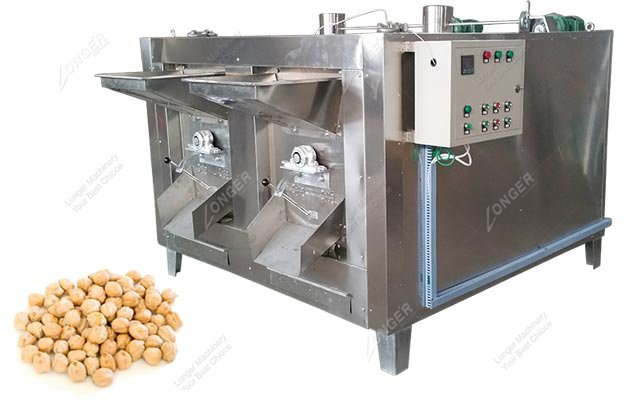 Chickpeas Roasting Machine|Chickpea Roaster
