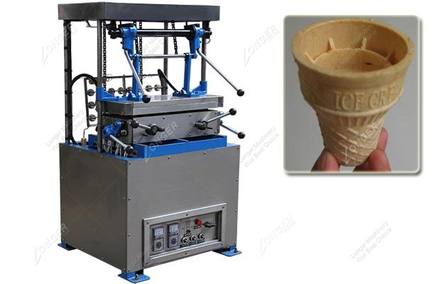 Wafer Ice Cream Cone Making Machine 24 Moulds