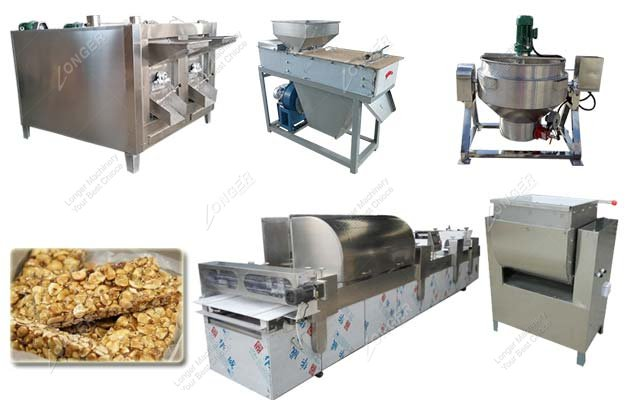 Automatic Peanut Candy Processing Line|Peanut Brittle Production Line