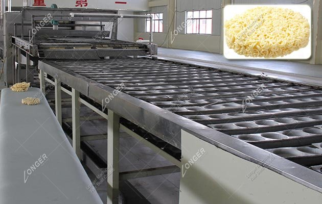 Electric Round Instant Noodles Production Line Manufacturer In China