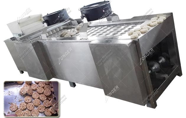 Automatic Korean Puffed Rice Cake Making Machine For Sale