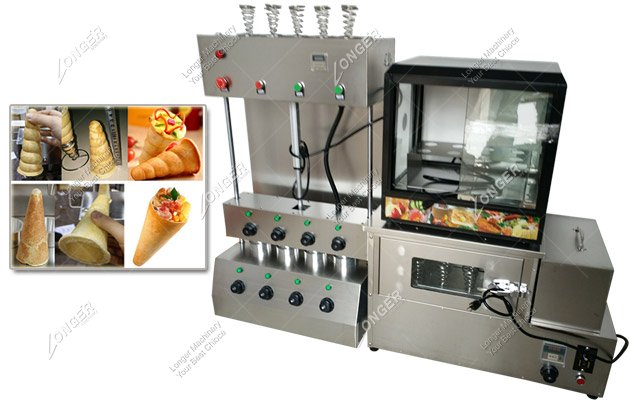 Whole Set Pizza Cone Forming Machine