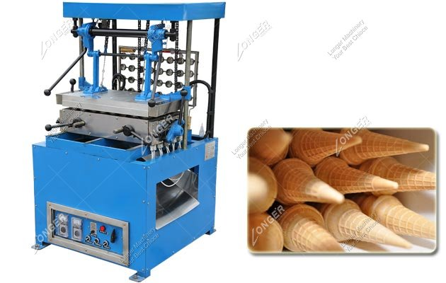 32 Moulds Automatic Wafer Ice Cream Cone Making Machine