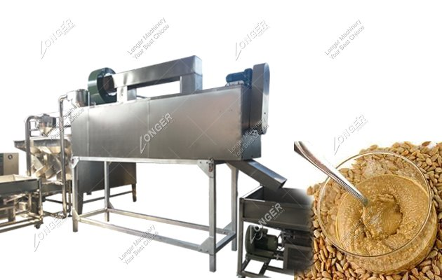 Industrial Sunflower Seed Butter Production Line 500 kg/h