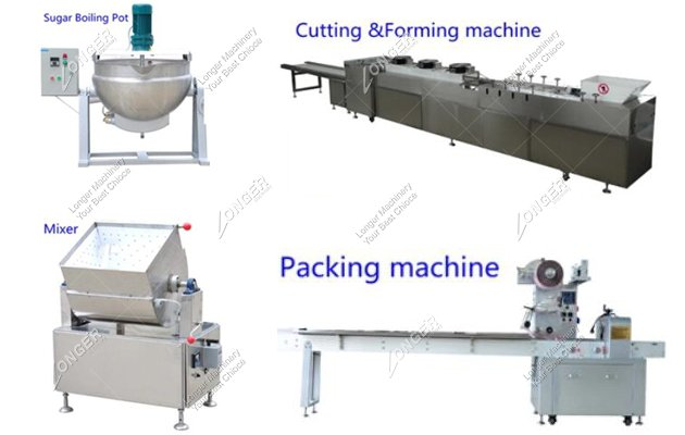 Industrial Small Cereal Bar Production Line Cost | Cereal Bar Forming Machine