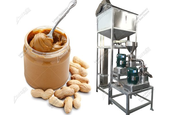 Small Scale Automatic Peanut Butter Production Line And Processing Equipment