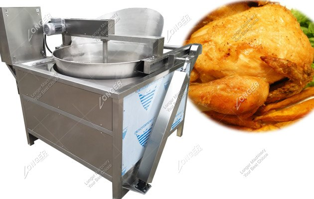 Automatic Chicken Wings Deep Fryer Machine In Electric Heating