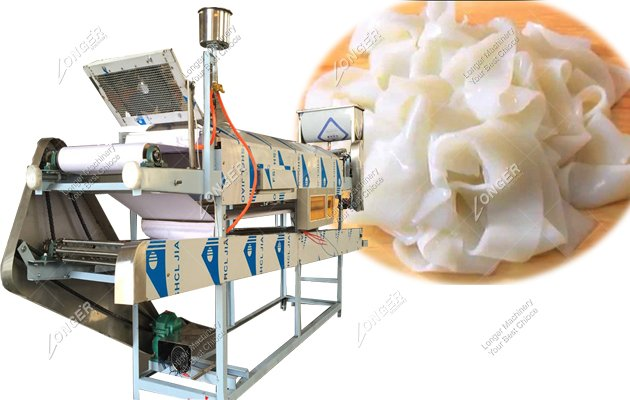 Stainless Steel Commercial Fresh Rice Noodle Steamer Machine