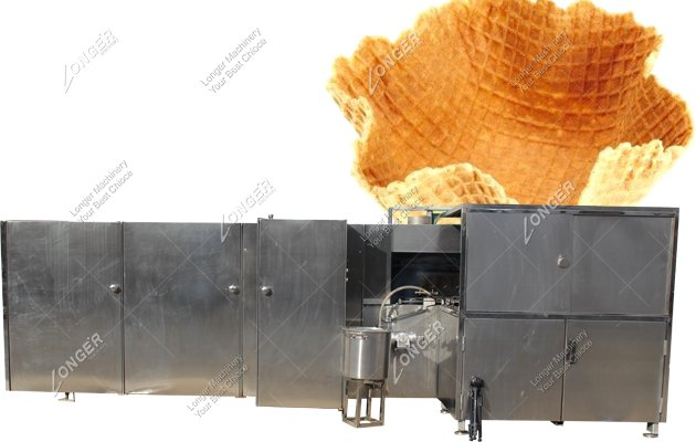 <strong>Fully Automatic Bowl Shape Ice Cream Cone Cup Making Machine</strong>