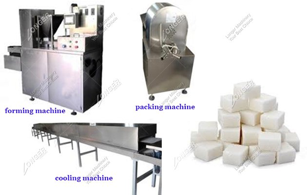 Industrial White Sugar Cube Manufacturing Machine For Sale