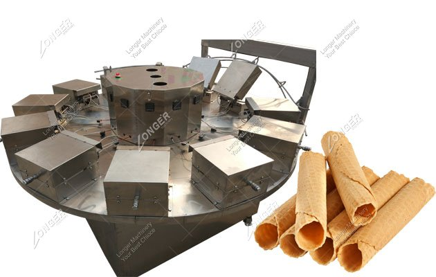 Semi Automatic Electric Crispy Egg Roll Maker Machine For Sale