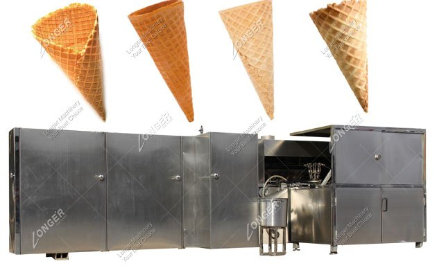 Ice Cream Cone Making Machine In India