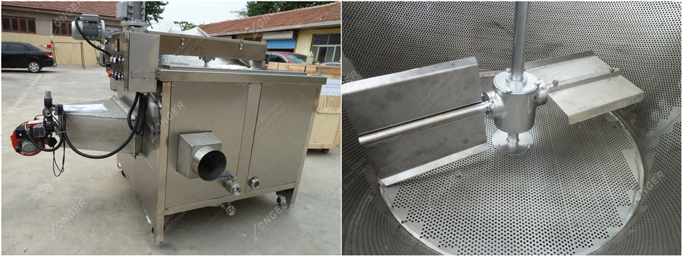 Chicken Wings Fryer Machine
