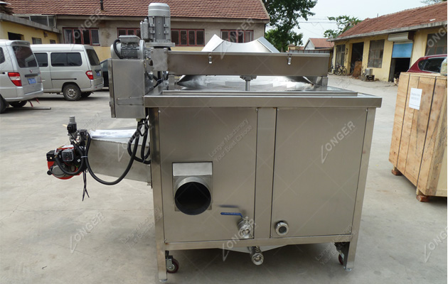 Automatic Deep Frying Machine for Chicken Wings