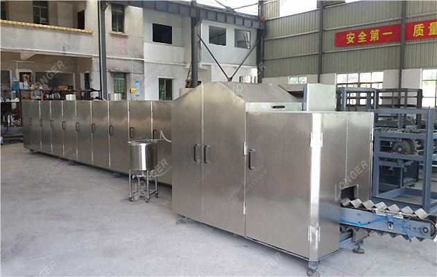 Full Automatic Waffle Cone Production Line Model M