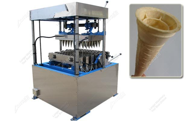Ice Cream Wafer Cone Maker Machine 60 Moulds