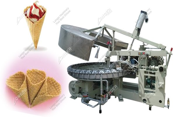 Automatic Crunchy Cone Making Machine for Sale