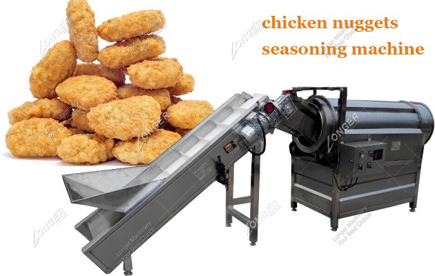Automatic Chicken Nuggets Production Line With Forming Machine